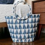 DeDe Blue Jute Bucket - 1