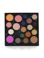 Smashbox Women's Cosmic Celebration Star Power Face + Eye Shadow Palette Brush Set - 2