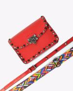 Mersi Ruby Studded Crossbody - Vegan Leather - 6