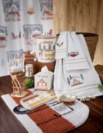 Gone Glamping Hand Towel - 2