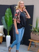 Westport Floral Mix Media Top - Misses - 4