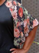 Westport Floral Mix Media Top - Plus - 3