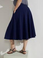 Tasmin Flare Floral Midi Skirts - 47