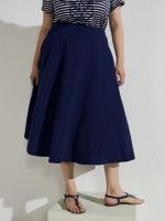 Tasmin Flare Floral Midi Skirts - 48