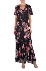Julia Jordan Floral  Maxi Dress - 1