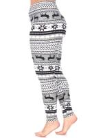Casual Soft Printed Leggings - Plus - 3