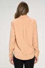 KAII Women Pinched Collar Shirt - 3