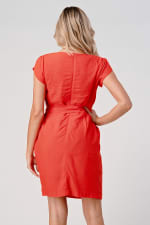 KAII Tie Back With Sleeves Dress - 2