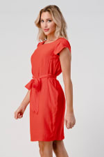 KAII Tie Back With Sleeves Dress - 5