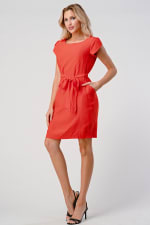 KAII Tie Back With Sleeves Dress - 6