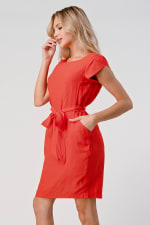 KAII Tie Back With Sleeves Dress - 4