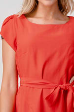 KAII Tie Back With Sleeves Dress - 3