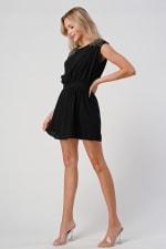KAII Beaded Shoulder Embellishment Tunic Dress - 6