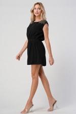 KAII Beaded Shoulder Embellishment Tunic Dress - 5
