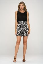 KAII Zebra Bottom Jacquard Dress - 5