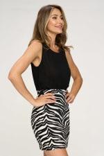 KAII Zebra Bottom Jacquard Dress - 3