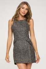 KAII Zipper Pochet Tropez Dress - 1