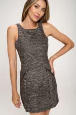 KAII Zipper Pochet Tropez Dress - 4
