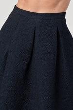 KAII Pleated Waist Mid Length Puffy Skirt - 3