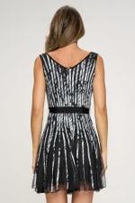 KAII Printed Strap A Line Dress - 2