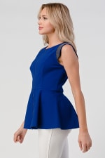 KAII Micro Chain Detailed Front Zipper Top - 3