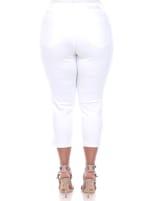 Super Stretchy Capri Jeans - Plus - 5