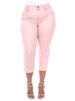 Super Stretchy Capri Denim Jeans - Plus - 2