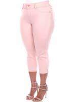 Super Stretchy Capri Denim Jeans - Plus - 3