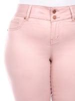 Super Stretchy Capri Denim Jeans - Plus - 5