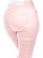 Super Stretchy Capri Denim Jeans - Plus - 6