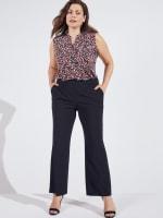 Roz & Ali Secret Agent Slight Bootcut Pants - Plus - 26