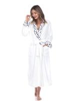 Leopard Print Cozy Lounge Robe - Plus - 4