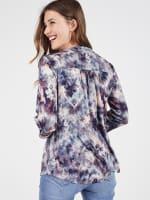 Roz & Ali Batik Tie Dye Popover - Misses - 2