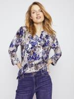 Roz & Ali Palm Floral Popover - Misses - 6