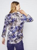 Roz & Ali Palm Floral Popover - Misses - 8