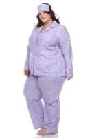 Three-Piece Pajama Set - Plus - 5
