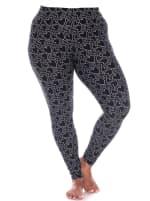 Super Soft Printed Leggings - Plus - 4