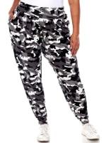 Camo Harem Pants - Plus - 5