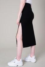 High Slit Midi Pencil Skirt - 3