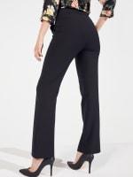 Roz & Ali Secret Agent Slight Bootcut Pants - Petite - 8