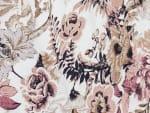 Roz & Ali Burgundy Floral Popover - Misses - 6