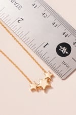 Stars Charms Short Necklace - 3