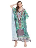 Loose Kaftan Dress - Plus - 3
