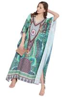 Loose Kaftan Dress - Plus - 6