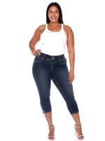 Super Stretchy Slimming Jeans - Plus - 1