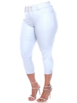 Slimming Capri Jeans - Plus - 7