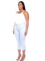 Slimming Capri Jeans - Plus - 5