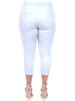 Slimming Capri Jeans - Plus - 2