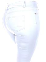 Slimming Capri Jeans - Plus - 3