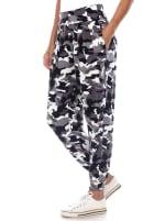 Camo Harem Pants - 4